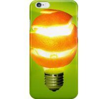 Orange Lamp iPhone Case/Skin