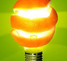 Orange Lamp by ccaetano