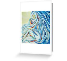 Hidden Woman Greeting Card