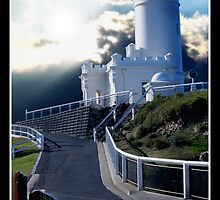 Byron Bay Light House by Cliff Vestergaard