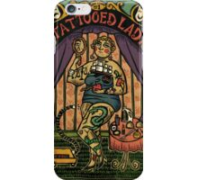 Tattooed Lady iPhone Case/Skin