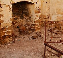 Bedroom, North Peake,Outback South Australia by Joe Mortelliti