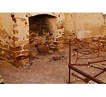 Bedroom, North Peake,Outback South Australia Photographic Print