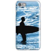 Surfer Silhouette iPhone Case/Skin