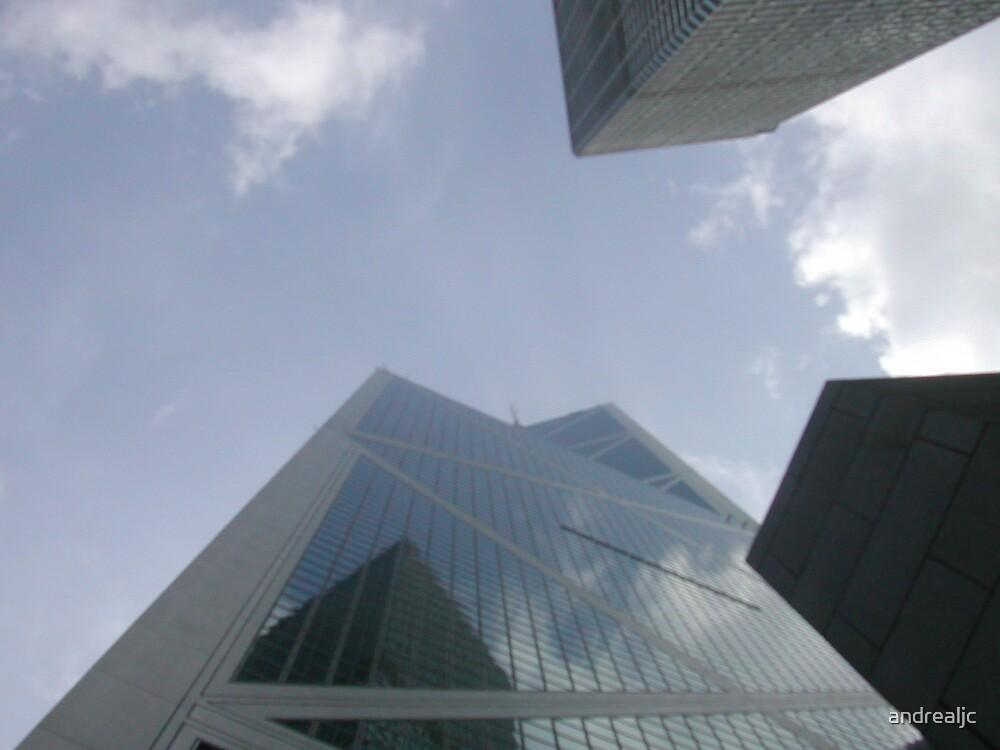 Hong Kong sky by andrealjc