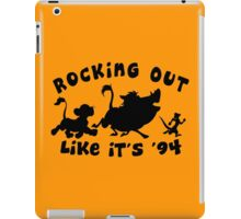 Rocking Out Like it's '94 iPad Case/Skin