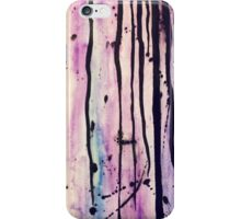 Dripping painting iPhone Case/Skin