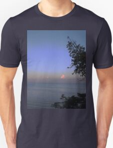 Tree and Clouds at Sunset Unisex T-Shirt