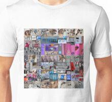Crete-Heraklion Barcode Unisex T-Shirt