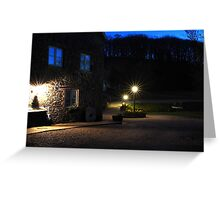 The tranquility of Millbrook, North Devon, UK Greeting Card