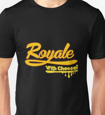 Pulp Fiction Royale With Cheese Pulp Fiction Unisex T-Shirt