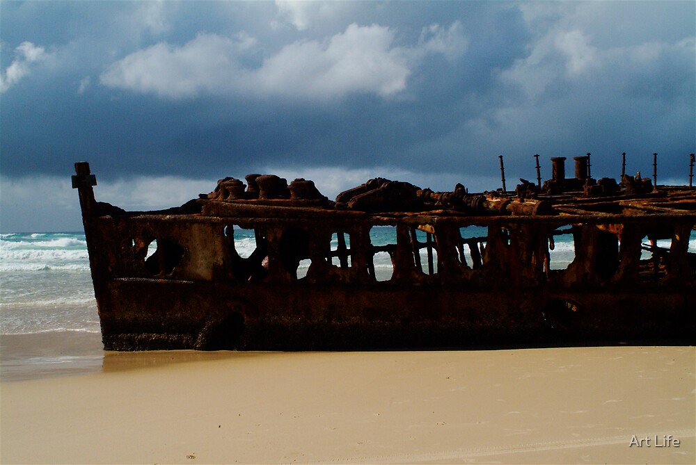 Shipwreck by WayneD