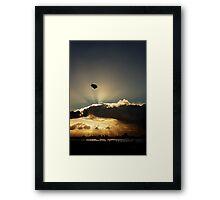 Free as ... Framed Print