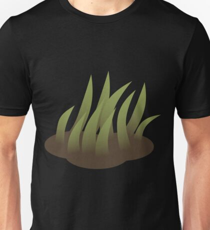 Glitch Firebog Land grass solid 5 1 Unisex T-Shirt