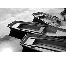 Row Boats Photographic Print