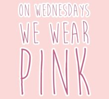 On Wednesdays, we wear pink by talkpiece