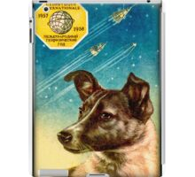 Laika the Sputnik 2 Russian Space Dog! iPad Case/Skin