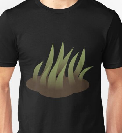 Glitch Firebog Land grass solid Unisex T-Shirt