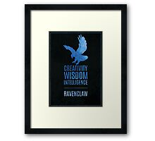 Harry Potter Inspired Ravenclaw House print Framed Print