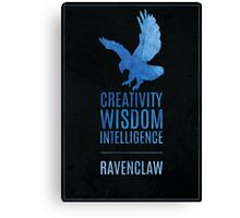 Harry Potter Inspired Ravenclaw House print Canvas Print