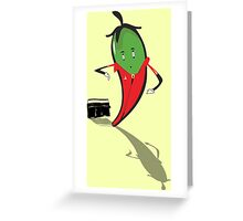 Jalapeño Popper Greeting Card