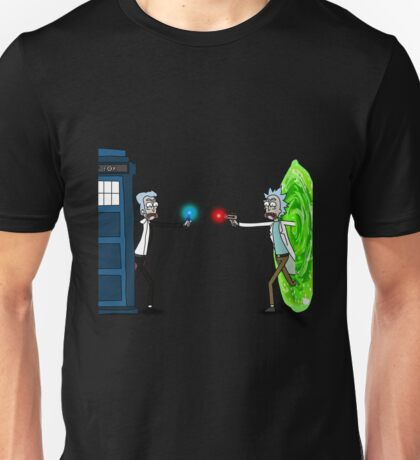 Doctor Who Ricktions In Time And Space Unisex T-Shirt