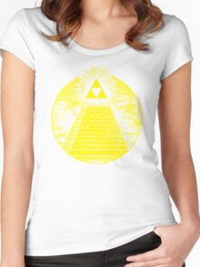 Hyrulian Seal Women's Fitted Scoop T-Shirt