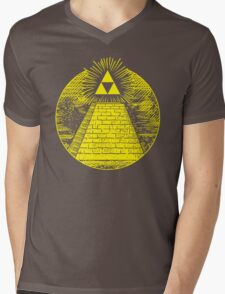 Hyrulian Seal Mens V-Neck T-Shirt