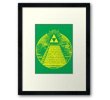 Hyrulian Seal Framed Print