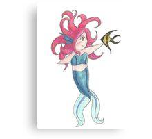 Chibi Mermaid Canvas Print