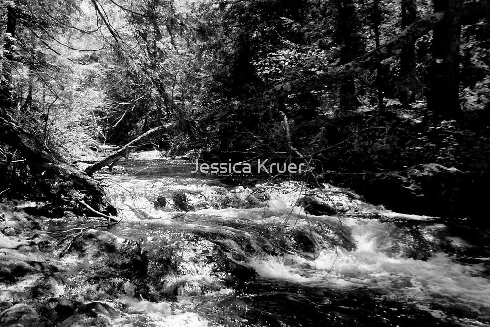 Waterfall 1 by Jessica Kruer