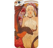 Fire Nouveau iPhone Case/Skin