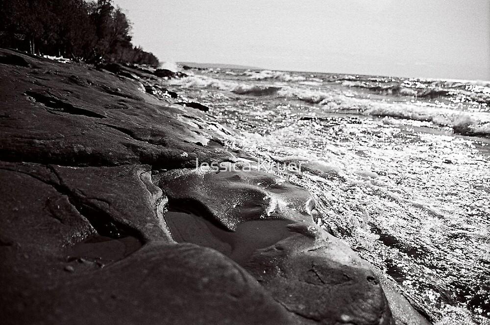 Rock Beach by Jessica Kruer