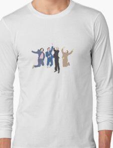 The Channel 4 news team Long Sleeve T-Shirt
