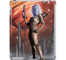 Retro Robot Painting 002 iPad Case/Skin