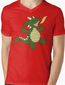 Baby Dragon Mens V-Neck T-Shirt