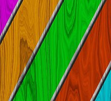 Nice Wood In Colors by vikaze