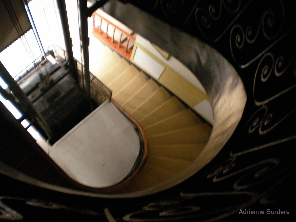 Stairwell by Adrienne Borders