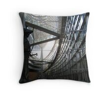 Tokyo International Forum Throw Pillow
