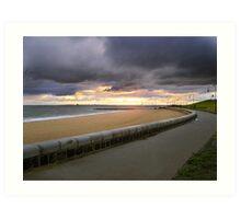 Elwood Beach HDR Art Print