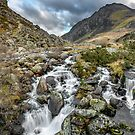 Tryfan and Ogwen River by Adrian Evans