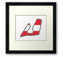 Red Bull Ring Framed Print