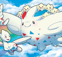 Togekiss Express by Missy Pena
