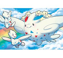 Togekiss Express Photographic Print