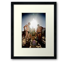 Eclisped Framed Print