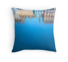 Nyhavn St, Copenhagen Throw Pillow