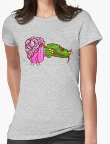 Zombie Coffee Womens Fitted T-Shirt