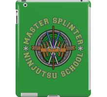 Master Splinter's Ninjutsu School iPad Case/Skin