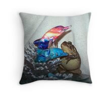 just as pretty Throw Pillow