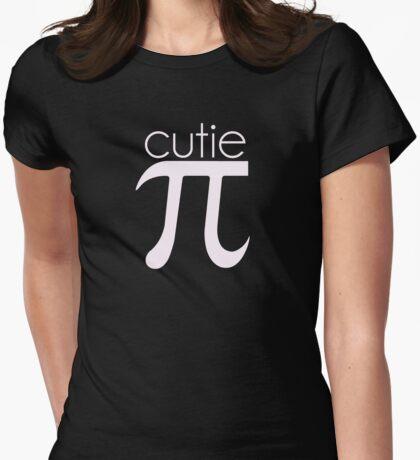 Cute Cutie Pie Pi Womens Fitted T-Shirt